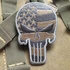 Fashion Skull Punisher Military Tactical Patch Tape Army Soldier Badge Armband