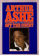 OFF THE COURT-A MEMOIR-TENNIS ICON ARTHUR ASHE SIGNED HB 1ST-EXCELLENT CONDITION