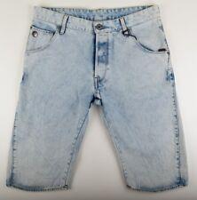 G-Star Raw, ARC 3D 1/2 jeans shorts, gr. W34 Bleach usé look vintage Shorts