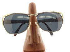 a7c70327db21 Vintage Laura Biagotti T-365S Oversized Gold Eyeglasses Sunglasses Frames  Italy