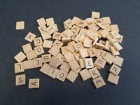 VTG 1953 SCRABBLE CROSSWORD BOARD GAME SELCHOW & RIGHTER replacement tiles