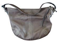 Genuine COACH Brown Leather shoulder Purse handbag G061-8A03