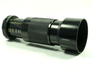 Tamron 80-210mm 3.8-4.0 CF Tele Macro BBAR MC Zoom Camera Lens Nikon AI Mount