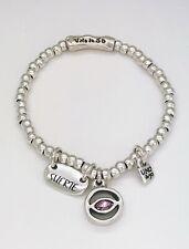 UNO De 50 Lucky Charms Silver Plated Bracelet Suerte Medium Pul1849rsamtl0m