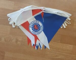Rangers Red, White & Blue 10m Bunting