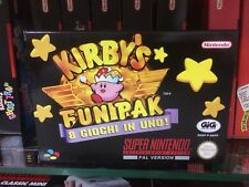 Kirby's snes Gig fun pak ITA PAL Super Nintendo