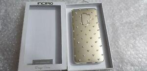 Official Samsung Galaxy S9 Incipio Design Tiny Heart Clear Back Case Cover