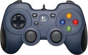 Logitech F310 Wired USB Controller PC Gamepad Dual Analog Sticks BLUE 940-000110