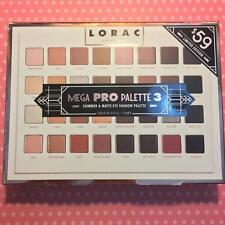 NEW LORAC Mega Pro Third generation 32 color Pearl&Matte eyeshadow palette