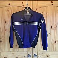 Adidas Soccer Zip Up Jacket Navy Colored Men's Size Medium