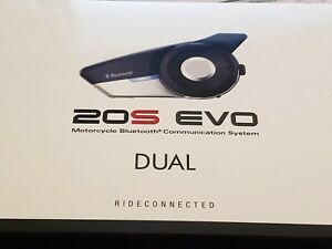 Sena 20S EVO Duel (2) Motorcycle Bluetooth Communication System