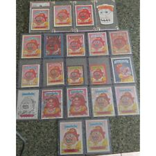 Garbage Pail Kids Acne Amy Rainbow Lot Sgorbions GPK Graded Sketch 30th Buyback