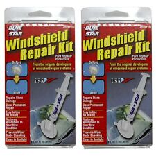 2x Blue-star Windshield Repair Kits #192 Made in USA Fix Damage Glass DIY