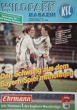 Programm 1995/96 Karlsruher SC - Werder Bremen