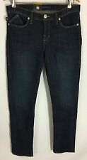 "Rock & Republic Berlin Skinny Low-Rise Jeans Dark Wash 29"" Inseam Size 12 S NWT"