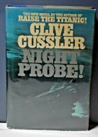 Night Probe! Clive Cussler Bantam Books 1981 First Edition/ First Printing VG/VG