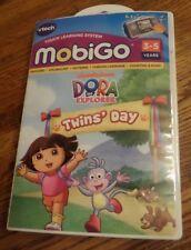 Dora the Explorer Vtech Mobigo Touch Learning System Software NIB MSRP $24.99