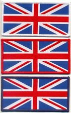 WOVEN UNION JACK SEW ON PATCH LARGE
