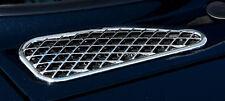 New PUTCO Chrome Trim Front Hood Vent Covers / FITS 2007-2012 TOYOTA FJ CRUISER