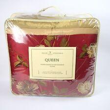Hallmart Collectibles Selina Bedding 7-piece Queen Comforter Set Red B1071