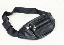 7- Pockets Travel Leather Bum Bag Money Waist Belt Holiday Festival Money Pouch