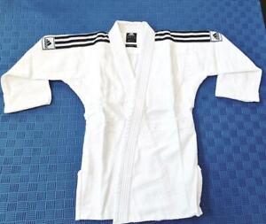 Adidas Club Kids Judo child Suit Uniform Gi  without Belt 350g Boys Girls