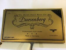 1/43 Stylish Cars 1931 Duesenberg J Speedster J-465 #059 Rare Model BOX And More