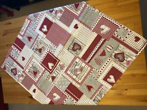 Cotton table cloths, made in Italy, 90x90 cm, different patterns available!