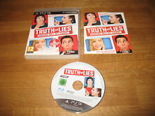 PS3 game - Truth or Lies complete PAL requires microphone
