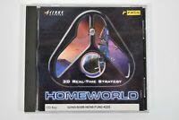 Homeworld 3D Real Time Strategy Game Sierra Studios PC CD Rom Vintage 1990s