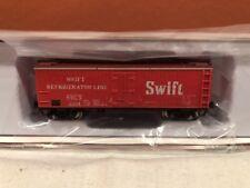 N SCALE RAPIDO TRAINS 521034 SWIFT GARX 37' MEAT REEFER SINGLE CAR RD#2691