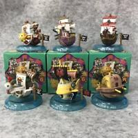 6pcs/set One Piece Mini Pirates Boat Anime Action Figures PVC Toy New in box