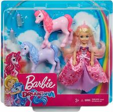 Barbie Dreamtopia Gift Set - Chelsea Princess Doll with Baby Unicorn *BRAND NEW*