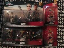 Disney Infinity star wars lot BRAND NEW in box power discs figures Unopenedf