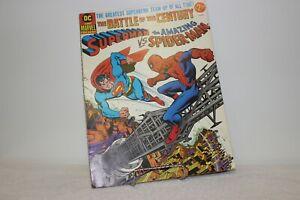 DC AND MARVEL PRESENT SUPERMAN VS THE AMAZING SPIDER-MAN TREASURY TABLOID 1ST PR