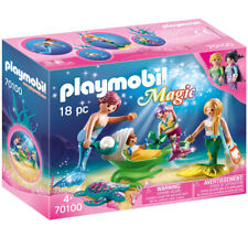 Playmobil 70100 Magic Family with Shell Stroller Playset