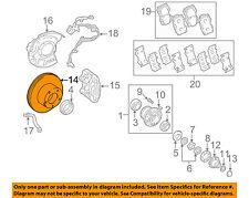 TOYOTA OEM Front Brake-Disc Rotor 4351260171