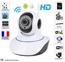 Camera de Surveillance IP iPhone/Android Motorisée WiFi HD Sans Fil Infrarouge