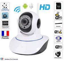 Camera de Surveillance IP iPhone/Android Motorisée WiFi HD Sans Fil Infrarouge
