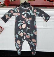 Carter's Infant Girls 4 PC Lot Pajamas Sleepwear Preemie-Newborn REBORN DOLL