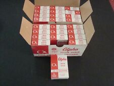 2 Case 12 Ct. Boxes 288 Total Count Alpha Dustless White Chalk Sticks Free Ship