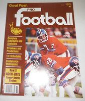 Pro Football Magazine Craig Morton Complete Schedules 1978 NO ML 072514R