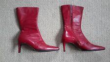 L.K. Bennett 100% Leather Stiletto Mid Heel (1.5-3 in.) Women's Shoes