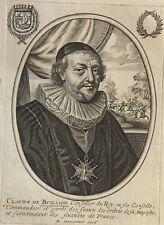 Claude de Bullion 1569-1640 par Balthazar MONTCORNET XVII ministre de Louis XIII