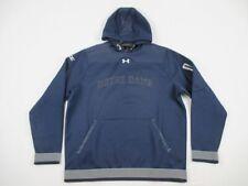 NEW Under Armour Notre Dame Fighting Irish - Men's Navy Poly Sweatshirt (XL)