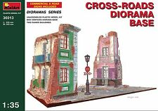 CROSS-ROADS DIORAMA BASE BUILDING 1/35 MINIART 36013