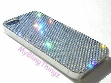 12ss CRYSTAL No Sides Bumper Back Case for iPhone 5 5S made w/Swarovski Elements