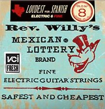 Dunlop RWN0840 'Rev Willy's Mexican Lottery Brand Electric strings 8-40