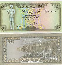 A Crisp Unc 50 Rials Note.Yemen Arab Republic.ND 1993?
