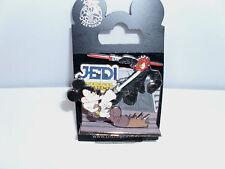 Disney * DIORAMA - STAR WARS - JEDI MICKEY & DARTH DONALD * New on Card Pin